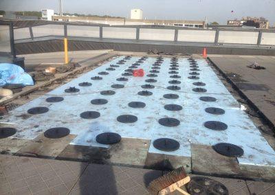 parkeerdak dakbestrating isoroks