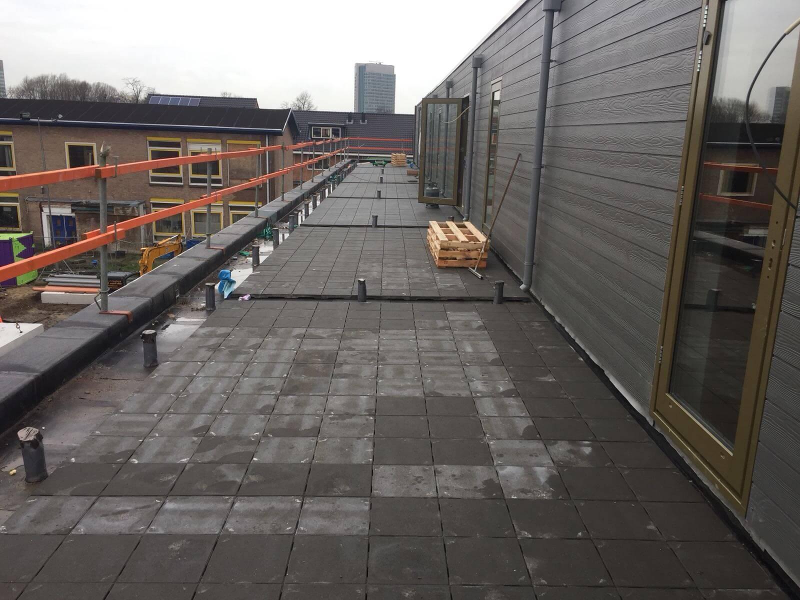Tegels Laten Leggen : Balkonophoging dakbestrating balkon tegels laten leggen
